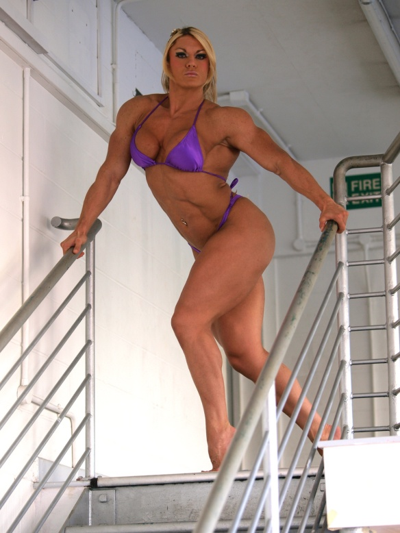 What s so alluring about female bodybuilders the - Lisa cross fbb ...