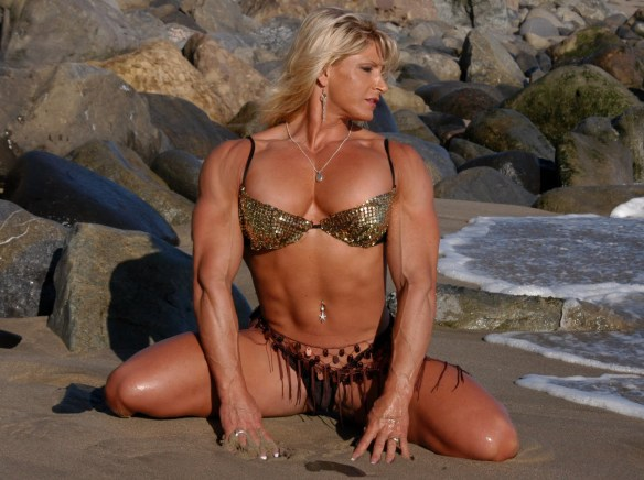 """When you imagine """"Muscle Girl,"""" think about Nikki Fuller."""