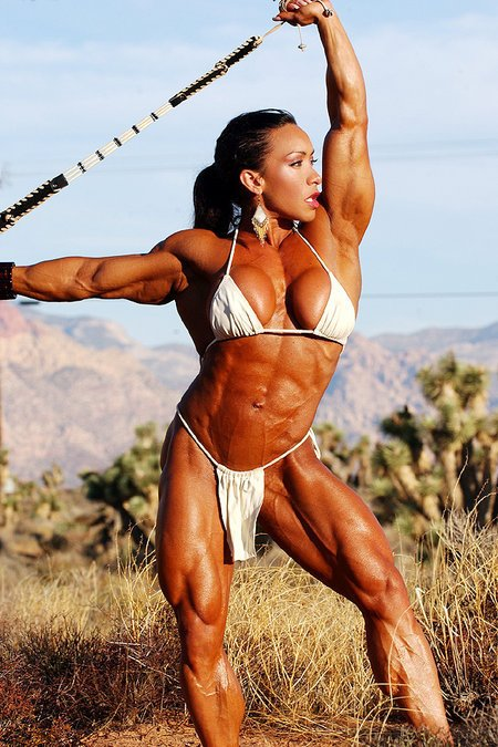 I could write a whole essay describing the beauty of Denise Masino. I just might...