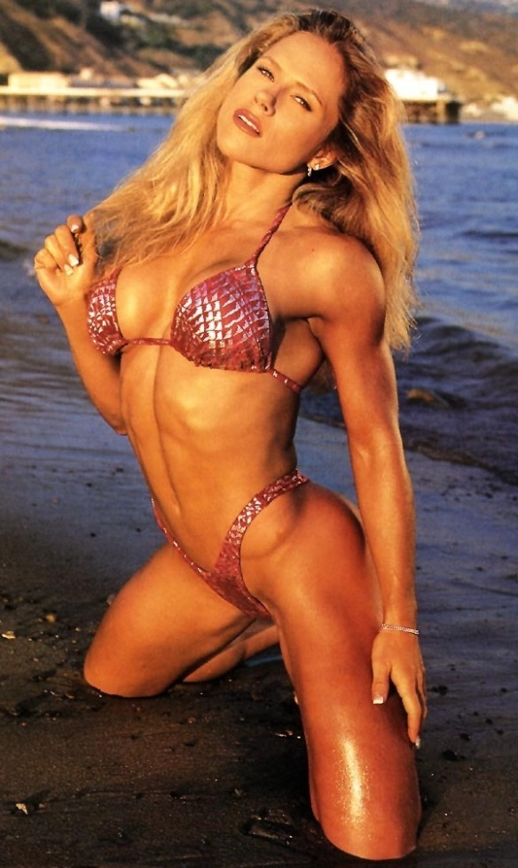 Unfortunately, not all female bodybuilders are as beautiful as Monica Brant.