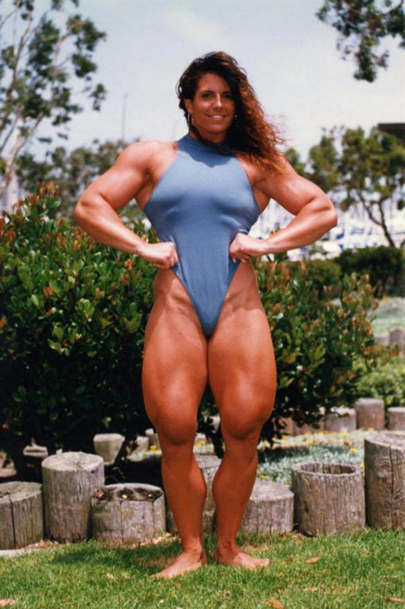 Would I want Tina Lockwood's massive thighs around my neck? No, but don't knock it unless you've tried it, right?