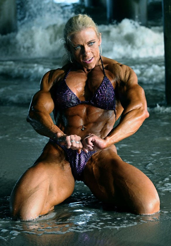 Are you willing to openly admit you think Marja Lehtonen is beautiful?