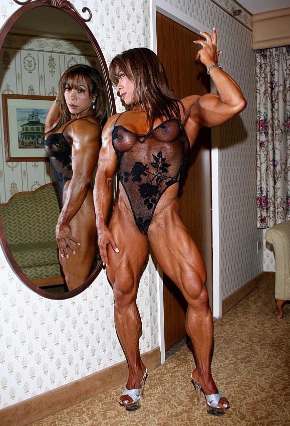 Asian Muscle Goddess Brenda Raganot.