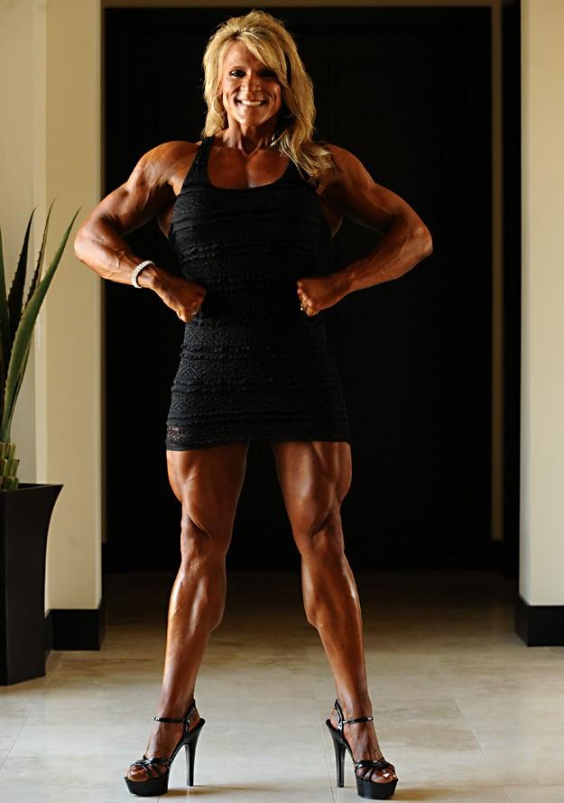 Girls muscle nena cortes