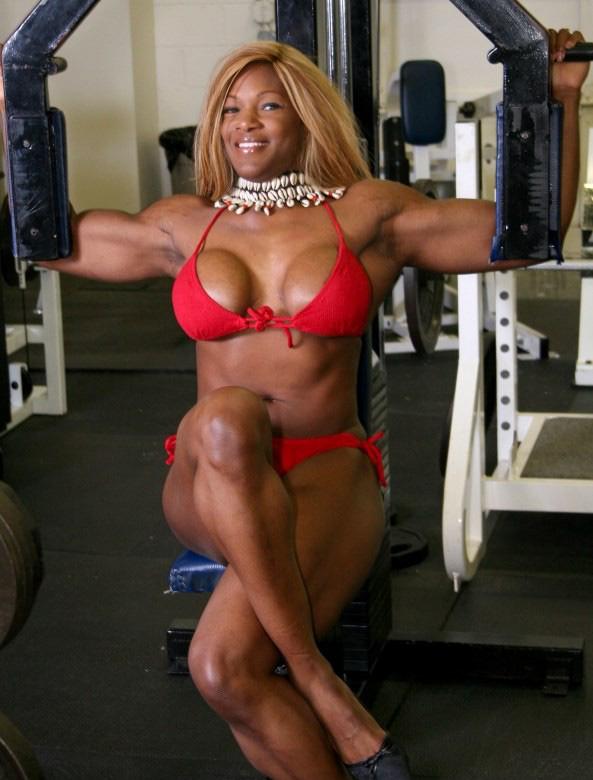Black female bodybuilder tatianna butler