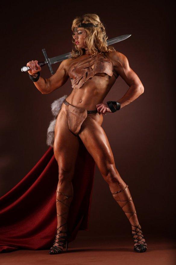 I need Ludmila Kolesnikova to protect me in battle. Seriously.