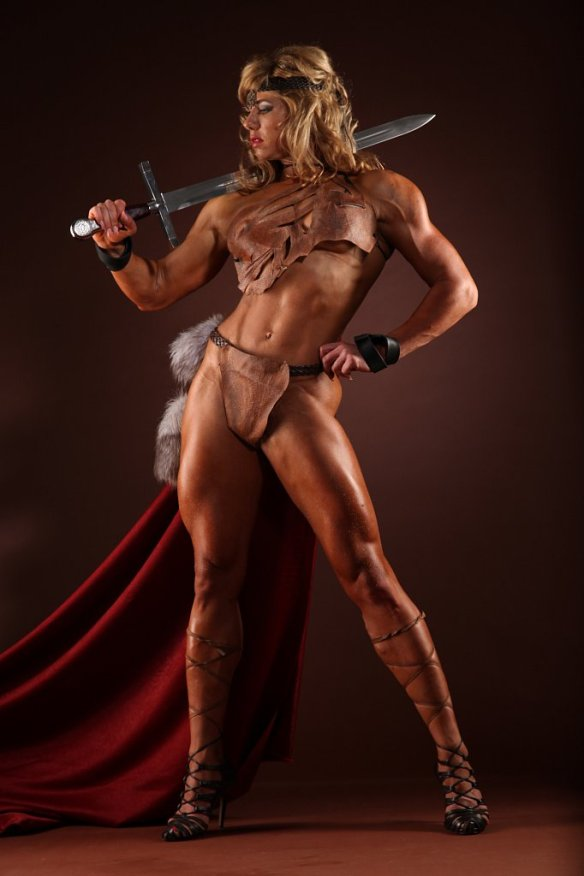 I need Ludmila Kolesnikova to protect me in battle. Seriously.