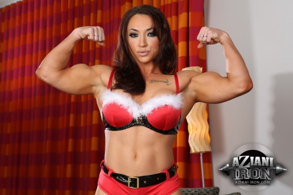 Dear Santa, all I want this year is Brandi Mae Akers under my tree. Pretty please with sugar on top?