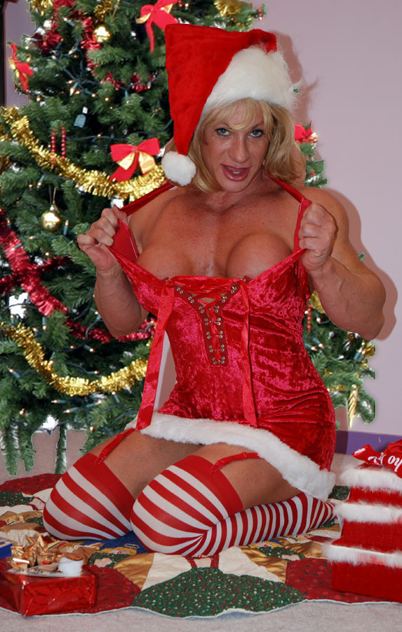 If I saw Kathy Connors sitting under my Christmas tree, watch out!