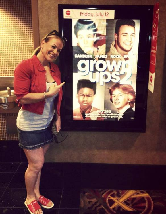 "Kris Murrell appeared in the movie ""Grown Ups 2."" Yeah, I didn't see it either."