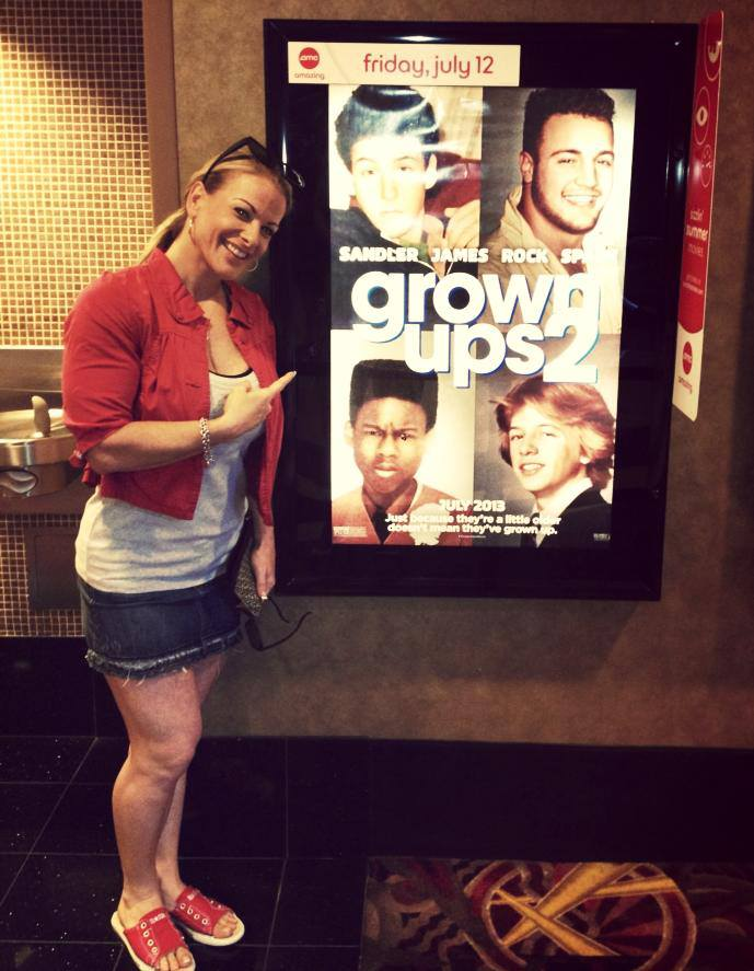 """Kris Murrell appeared in the movie """"Grown Ups 2."""" Yeah, I didn't see it either."""