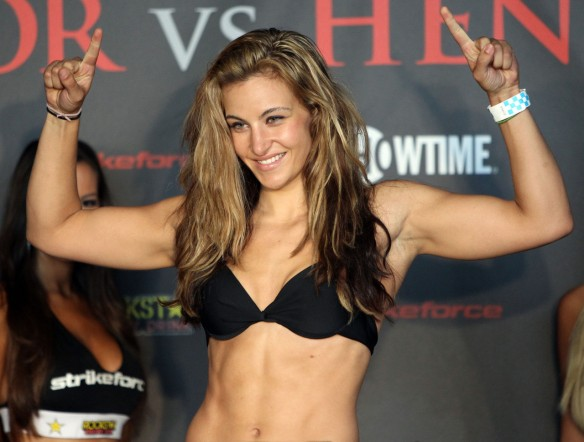 MMA fighter Miesha Tate. A local gal from Tacoma, WA!!!