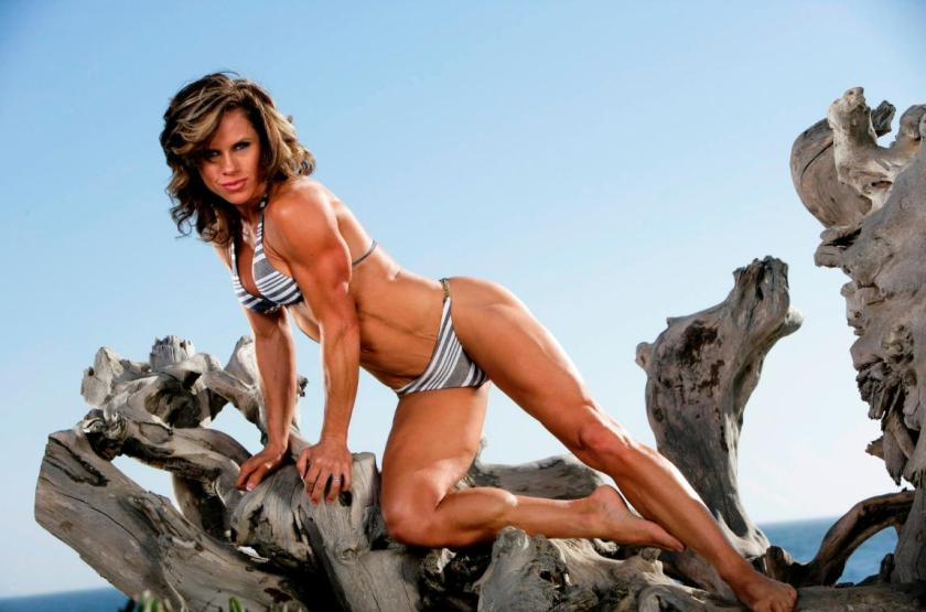 Monica Brant was one of my first ever female muscle crushes. Wonder why?
