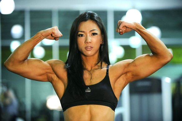 Yeon Woo Jhi, the Asian Muscle Goddess.