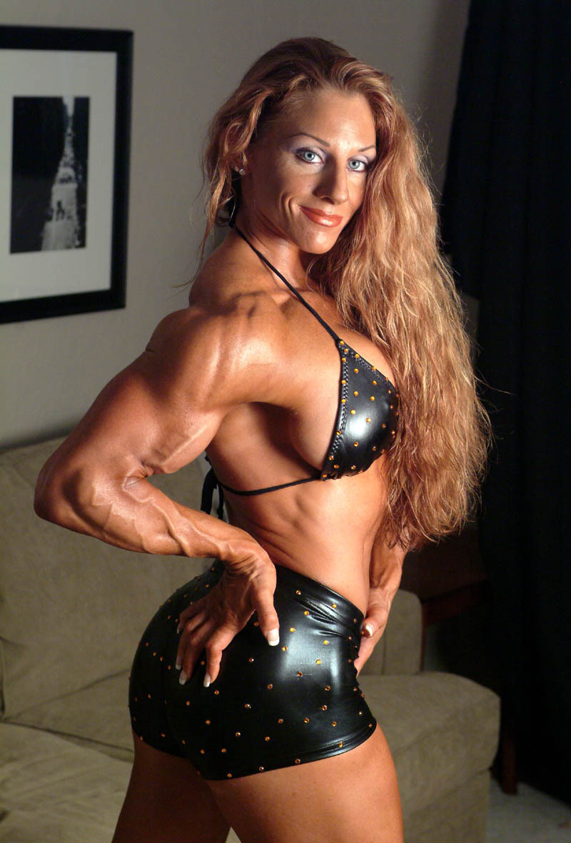 Bodybuilder Lindsay Murray Nude 84