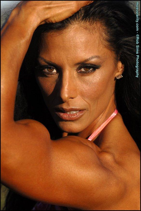 A shot of Deidre Pagnanelli's gorgeous face.