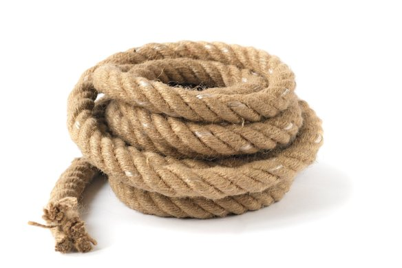 "The rope. And no, this isn't ""Clue!"""