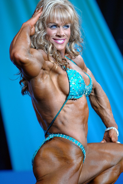 Cathy LeFrancois is the Holy Grail of female bodybuilders.