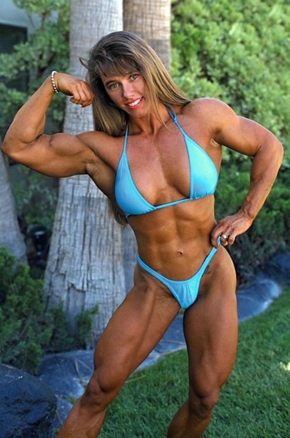 Marie has the awesome muscularity of Denise Hoshor...