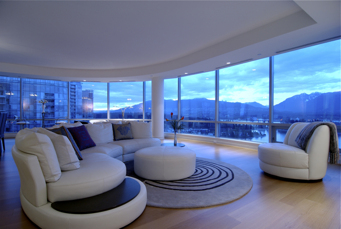 This is what I imagine the condo would be like.