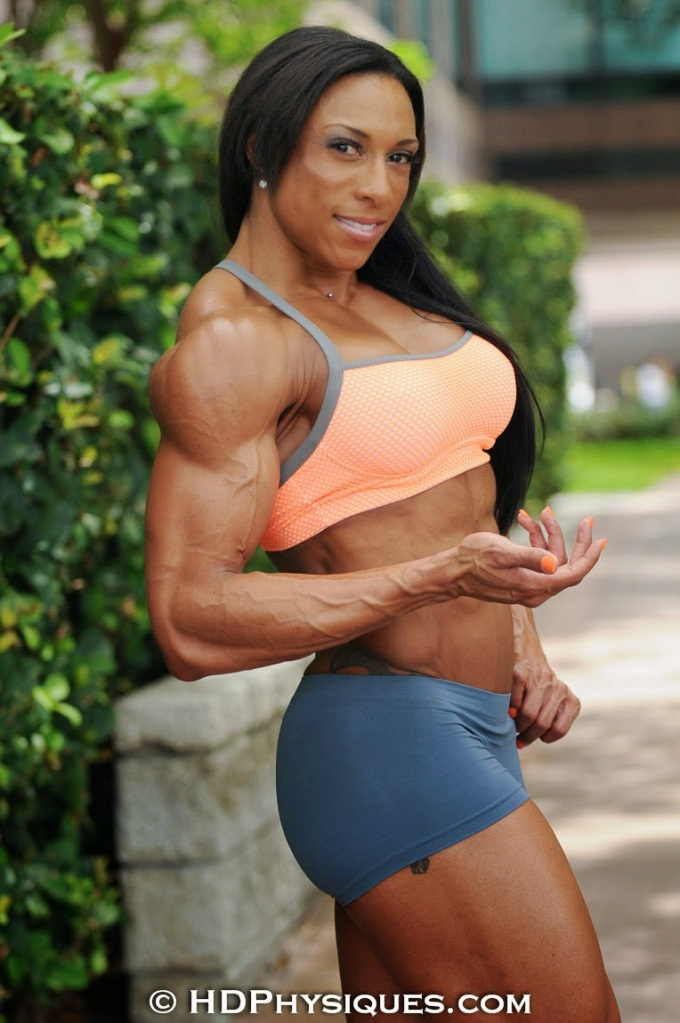 Them biceps on Asha Hadley, though.