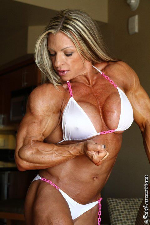 May I touch Debi Laszewski's arms?