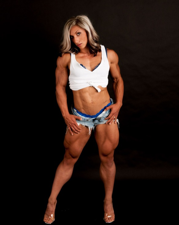 The future of the sport of bodybuilding: Shannon Courtney.