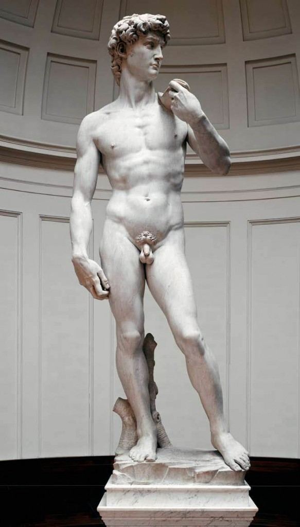 """David"" by Michelangelo."