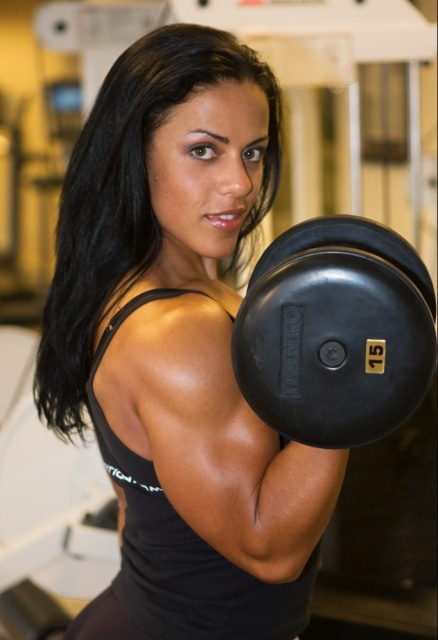 If more women looked like Mavi Gioia at the gym, I'd go there every single day of my life.