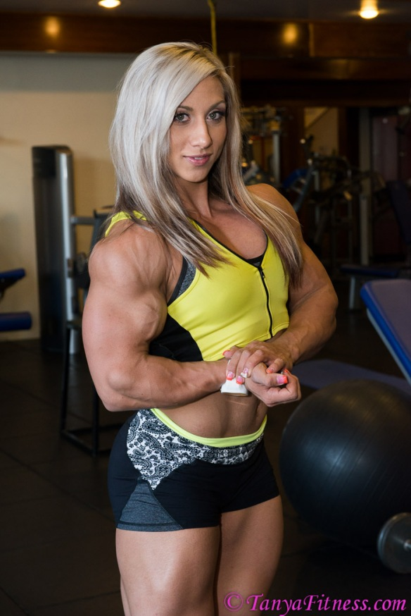 The next generation of female bodybuilding, Shannon Courtney.