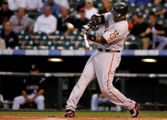 Poor Barry Bonds. The poster child for steroid use in professional sports. He was one heck of a ballplayer regardless.