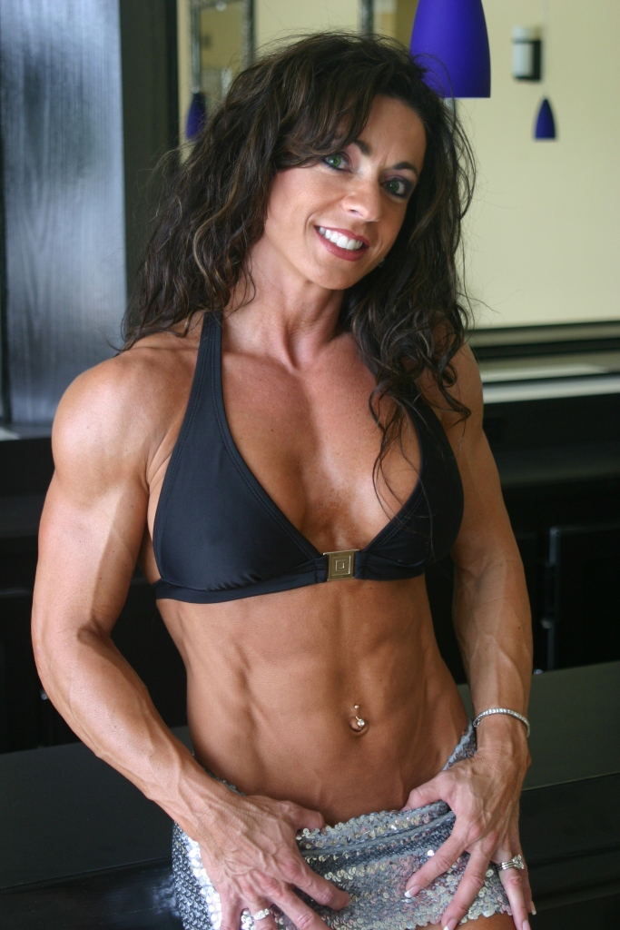 "I cannot confirm that Karen Zaremba was a ""natural"" bodybuilder, but I suspect she was."