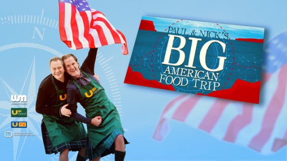 """A previous Waddell Media project entitled """"Paul & Nick's Big American Food Trip."""""""