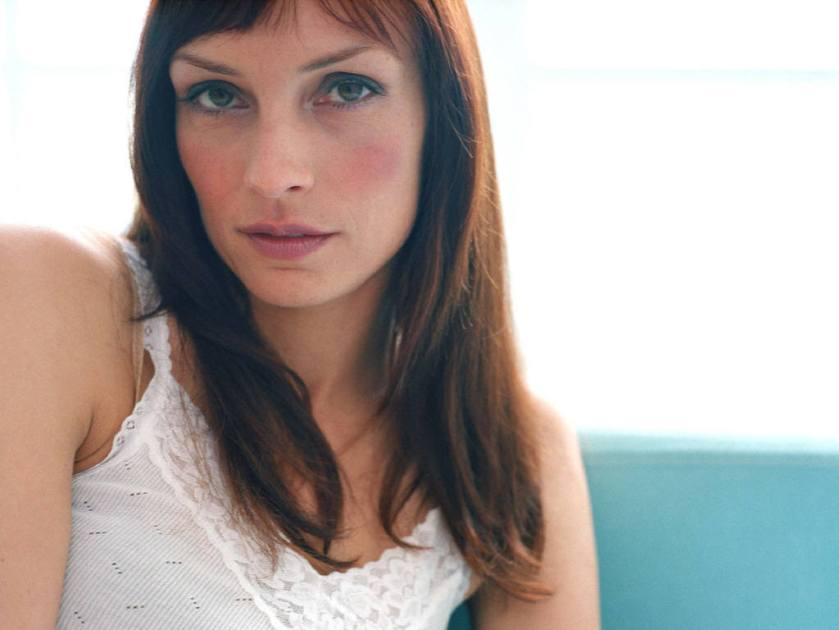 Famke Janssen remains just as beautiful today as she was 20 years ago. Maybe more beautiful, if I may say so myself.