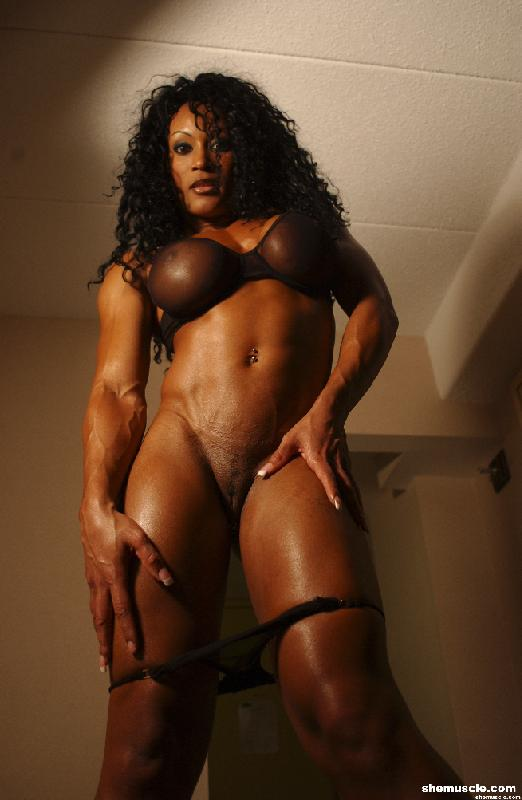 Kathy Johansson, a strong black woman in the flesh.