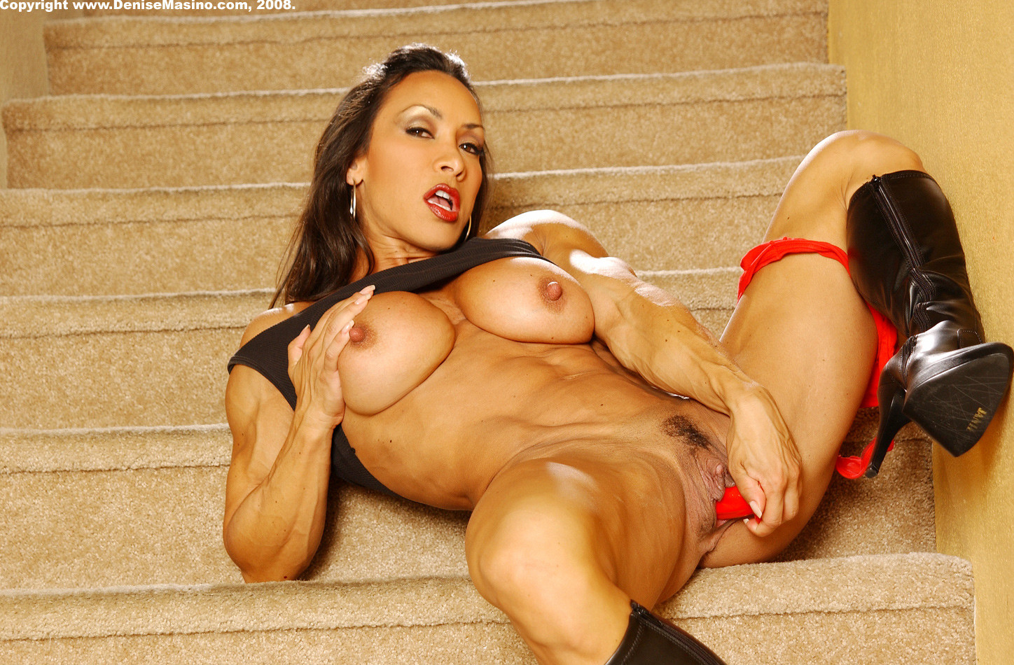 Female bodybuilder denise masino sex