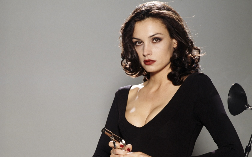 Famke Janssen was (and still is) one of the most beautiful women in the world.