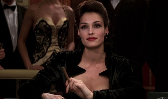 Xenia Onatopp. The pleasure was all hers.