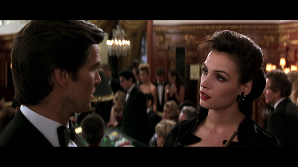 """Other than Wai Lin in """"Tomorrow Never Dies,"""" Xenia was the only Bond girl who could match Bond in a fist fight."""