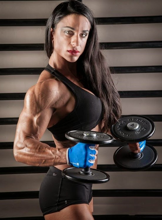 Do you like the vascular look of Cris Goy Arellano?