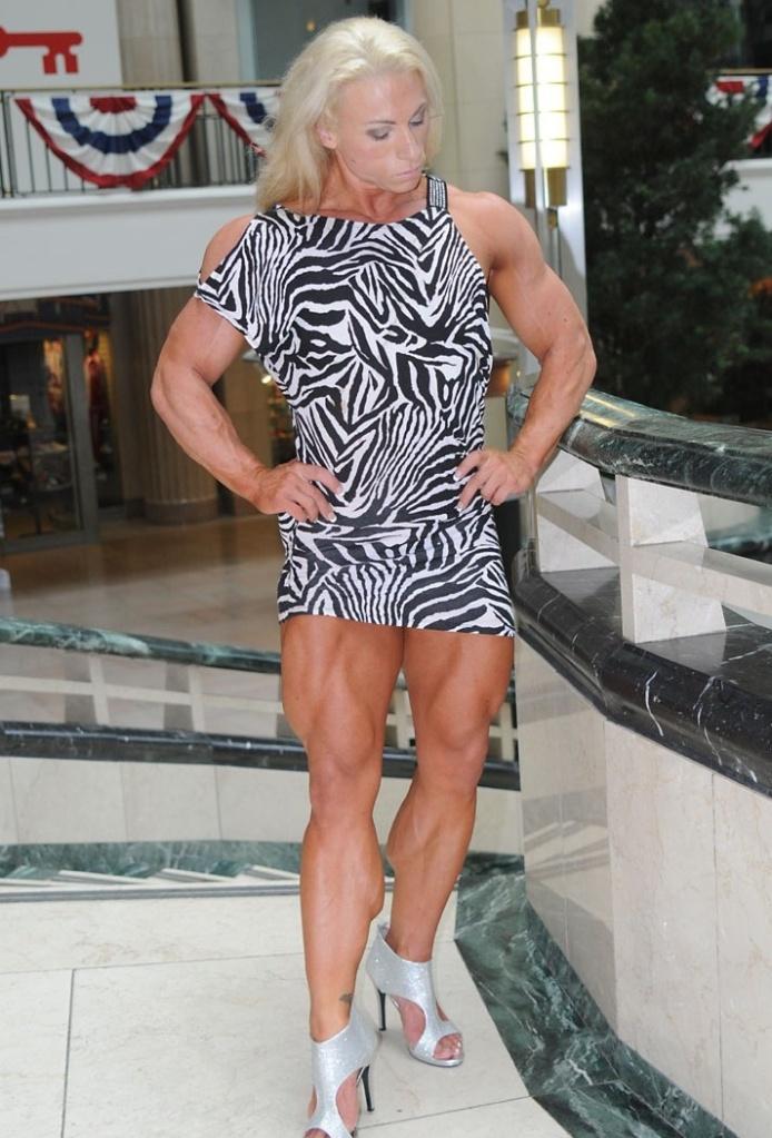 Seeing Gillian Kovack wearing that dress in public would definitely make me stop dead in my tracks.