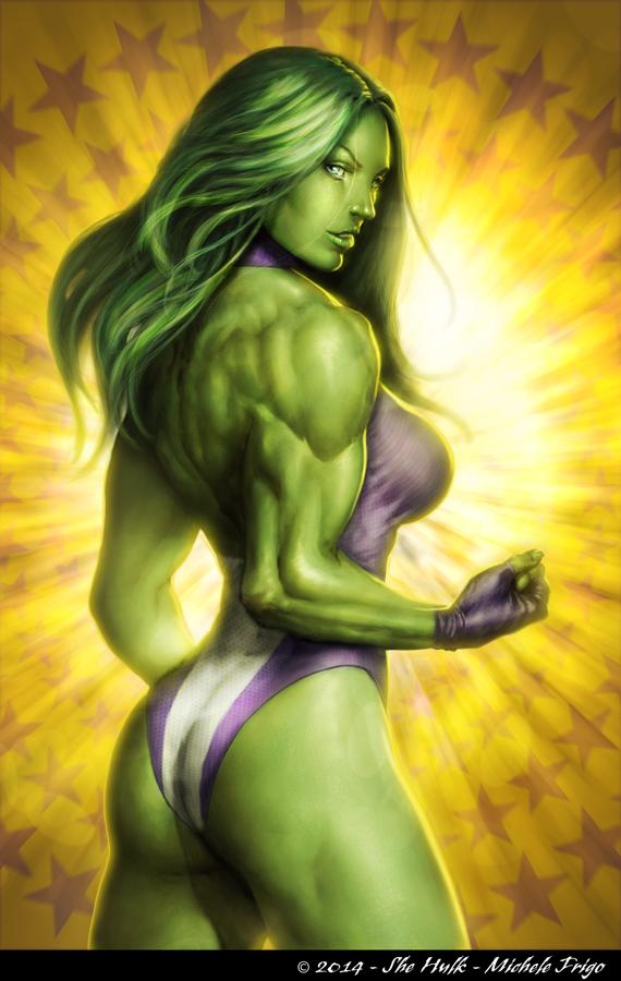 She-Hulk!