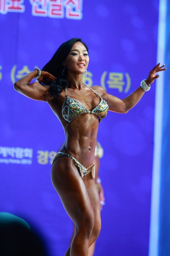 Lee Jin Won in top competitive shape.
