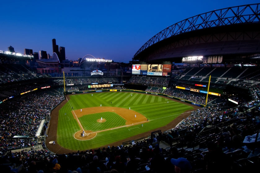 Safeco Field, home of my beloved (but frustratingly inept) Seattle Mariners.