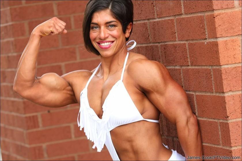 Look at the biceps of Gillian Ward!