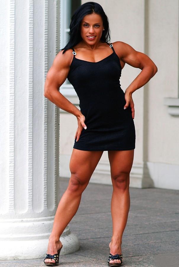 The one and only Italian Muscle Goddess Mavi Gioia.