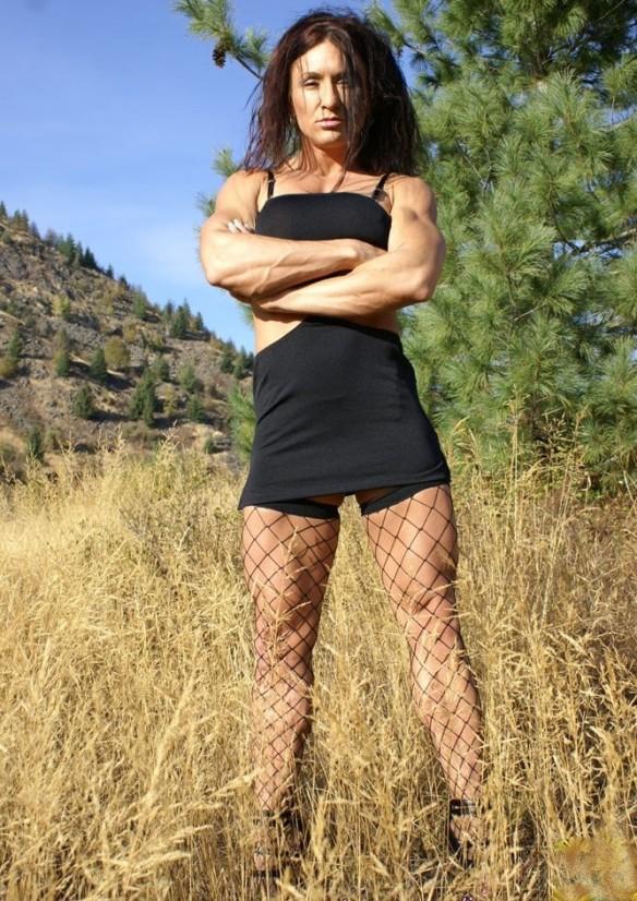 Beautiful legs on Autumn Raby.