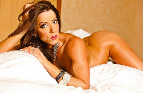Who wouldn't want to touch the magnificent body of Julie Germaine (a.k.a. Julie Bonnett)?