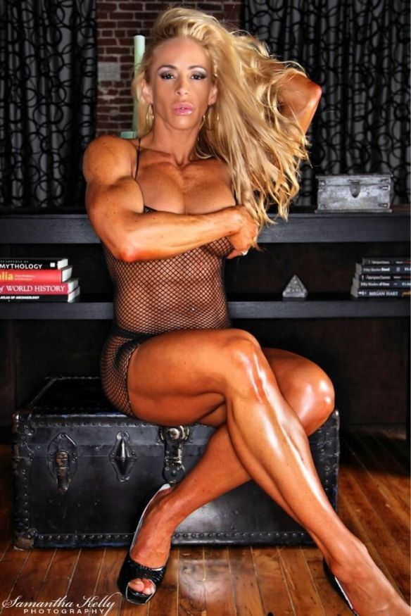 Jill Rudison is ready for anything.