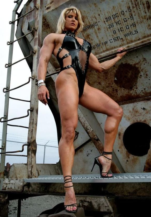 I'd appoint Nikki Fuller as my Secretary of Muscle.